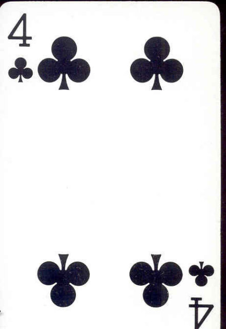 COCA-COLA Soda Playing Card