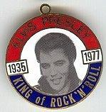 Elvis Presley Enameled Medals
