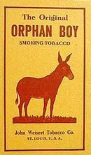 ORPHAN BOY DONKEY TOBACCO BOX