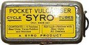 POCKET VULCANISTER CYCLE TUBE TIN 1930S