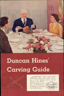 old vintage 1951 DUNCAN HINES CARVING Guide