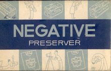 10 old vintage 1955 Photo Negatives in Envelope
