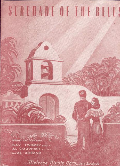 SERENADE OF THE BELLS 1947 SHEET MUSIC
