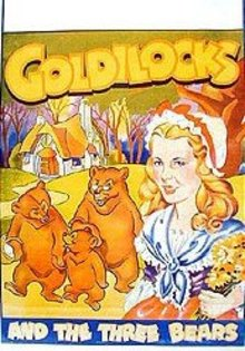 Goldilocks Three Bears Vaudeville Movie Poster