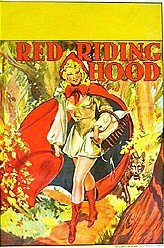 Red Riding Hood Vaudeville Theatre Poster