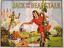 Jack Beanstalk Vaudeville Theater Poster