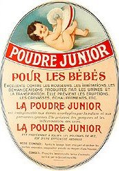 French Baby Powder Poster