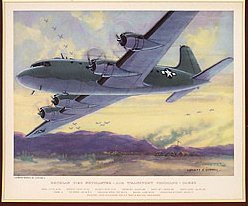 Charles Hubbell WW2 Lithograph Prints