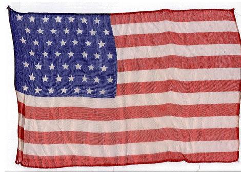 49 STAR SILK FLAGS 1959 VINTAGE
