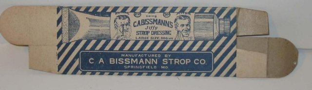 Cabissman Shaving Strop Box 1910