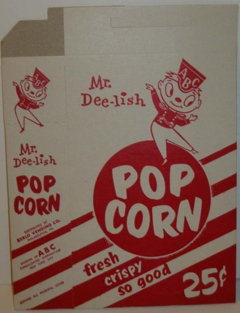 Mr. Deelish Popcorn Box