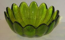 Viking Glass Fluted Bowl