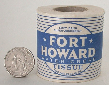 FORT HOWARD TOILET PAPER ~ OLD VINTAGE SALESMEN