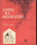 Old Vintage 1960 Survival of Nuclear Attack Book