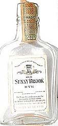 Sunny Brook Whiskey Bottle