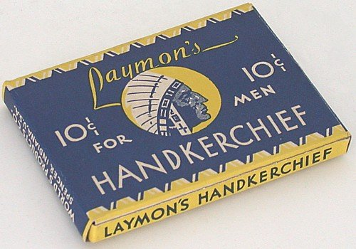 Laymon's Handkerchief Box 1940s
