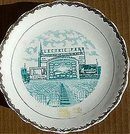 Electric Park Souvenir Plate