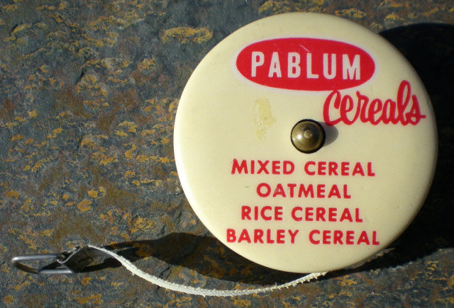 Pablum Cereal Tape Measure