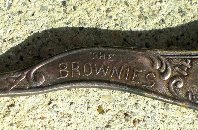 Palmer Cox Brownie Spoon - Silverplate