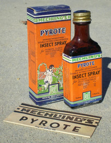 Pyrote Insect Bug Bottle Full