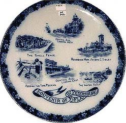 ST. PETERSBURGH FLORIDA PLATE * OLD VINTAGE