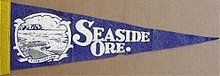 Seaside Oregon Pennant