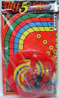 1950S HASBRO BIG GAME CHECKER SET TOY