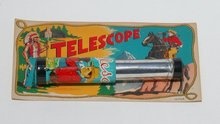 COWBOY TELESCOPE TOY * OLD VINTAGE COWBOY