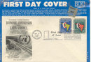 1961 FIRST DAY COVER * OLD VINTAGE UNITED NATIONS