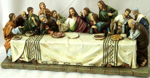 LAST SUPPER STATUE * BRAND NEW JESUS LAST