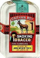 Orphan Boy Tobacco Poster