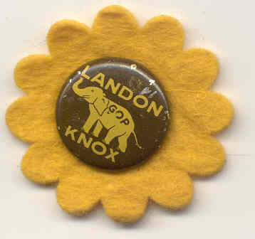 Landon Knox Potlitical Pin