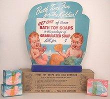 Baby Bath Soap Display
