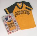 VINTAGE BASEBALL SHIRT * PITTSBURGH PIRATES