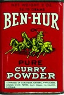 Ben-Hur Spice Tin