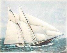 Yacht Ships Lithograph Art Prints