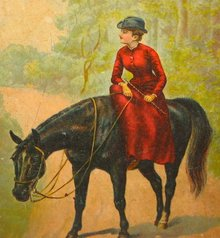 BLACK BEAUTY BOOK * ANTIQUE 1890S MCLOUGHLIN