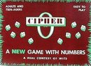 Cipher Board Game 1958 Toy