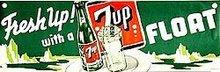 7UP Soda Float Poster - Seven Up