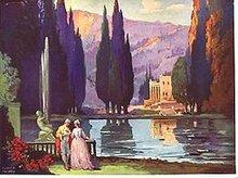 Pavlovsky Art Litho Print