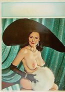 Evelyn West Burlesque Nude Print