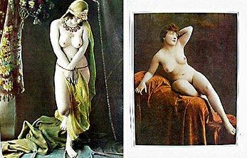 Nude Romantic Prints