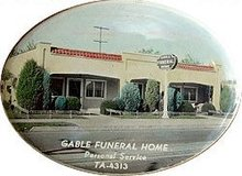 Funeral Home Mirror