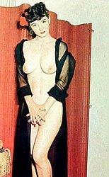 Nude Burlesque Postcards 1950s