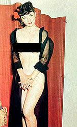 Burlesque Postcards Queen Sized 1950s