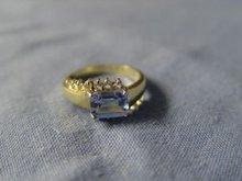 Vintage Cubic Zirconia Ring