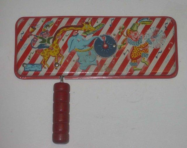 Mattel Twirl-A-Whirl Music Toy 1951