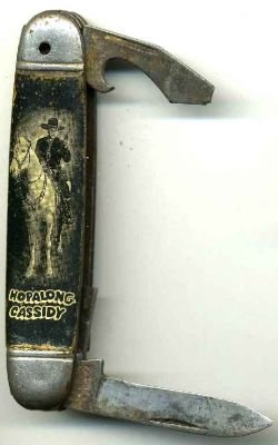 Hopalong Cassidy Pocket Knife / old vintage