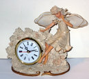 Angel Quartz Clock