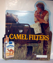 Camel Cigarette Billboard Sign